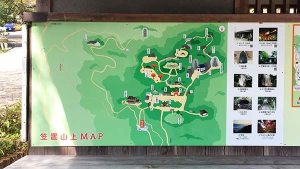 笠置寺MAP