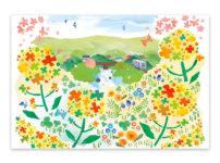 福岡・朝倉市・秋月・イラスト