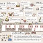 京都・イラストマップ・観光・今出川・出町柳・英語版・食べ歩き・グルメ・ツーガイド・ゲストハウス